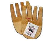 Ergonomically Correct and Efficient Salad Servers The Kootenay Bear Claws are the originals created by Michael Ferrier in 1985. They are the highest quality, most aesthetically pleasing and ergonomically correct non-handled servers available. All Kootenay Spoons kitchenware is handcrafted from kiln-dried sustained yield birch, and rubbed with organic food-grade walnut oil.