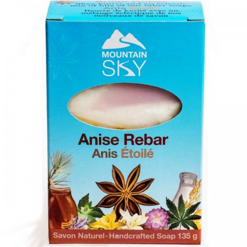 Mountain Sky Anise Rebar Bar Soap
