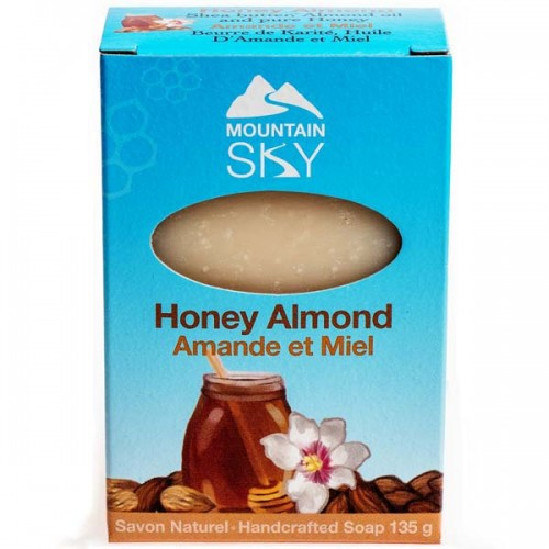 Honey Almond Natural Bar Soap