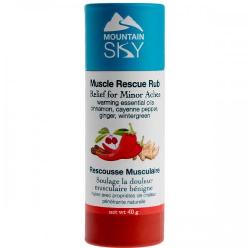 Mountain Sky Warming Muscle Rescue Rub