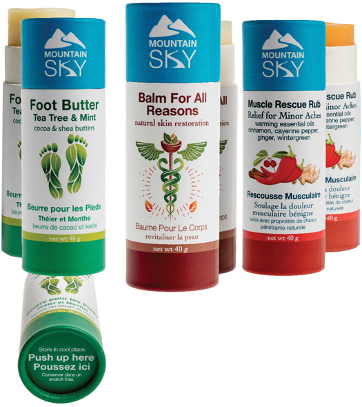 Mountain Sky Body Butter Eco-Tubes