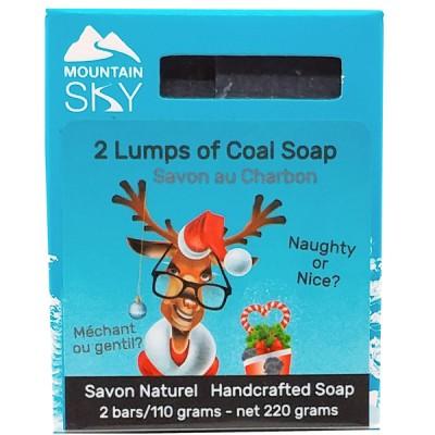 2 Lumps of Coal soap