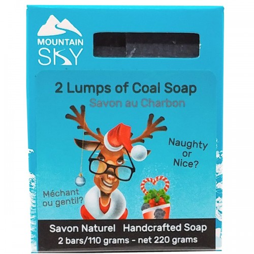 2 Lumps of Coal soap